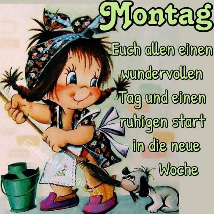 Guten Morgen Grüße Montag